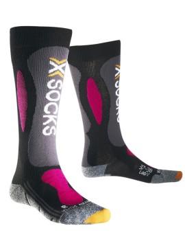Sosete Ski Dama X-Socks Ski Carving Silver